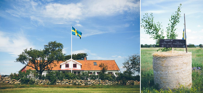 Bröllopsfotografering Rönnås lada rönnås lada