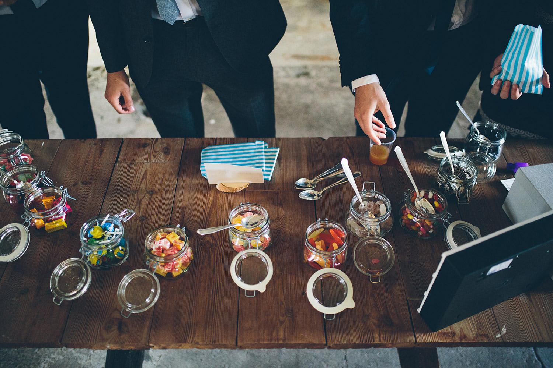 candybar bröllop