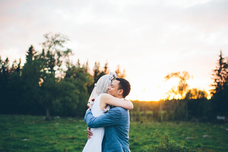 blankefalls loge bröllop