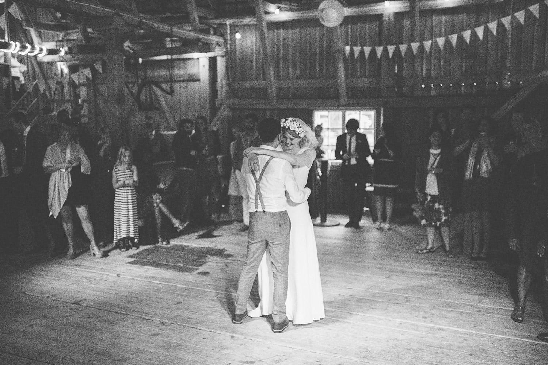 blankefalls loge första dansen